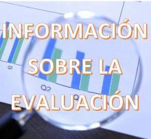 Información sobre la evaluación