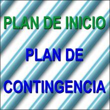 Plan de inicio de curso y Plan de contingencia